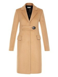 Balenciaga Camel Coat at matchesfashion.com